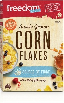 Freedom Foods Aussie Grown Corn Flakes 260g