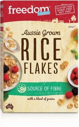 Freedom Foods Aussie Grown Rice Flakes 300gm