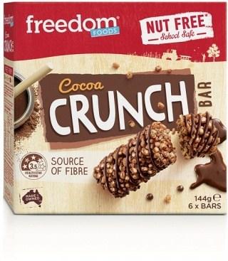 Freedom Foods Cocoa Crunch Rice Bars  (6Bars) 144g