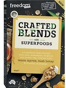 Freedom Foods Crafted Blends Lemon Myrtle Honey Bush Cereal 400g