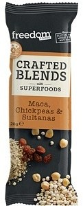 Freedom Foods Crafted Blends Maca Bars 12x28g