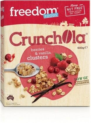 Freedom Foods Crunchola Berries & Vanilla Clusters 600g