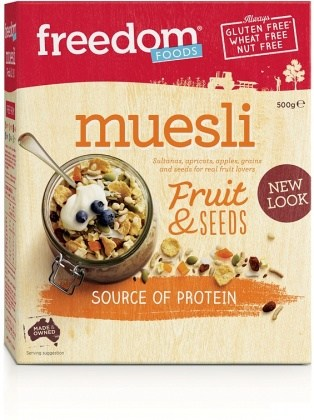 Freedom Foods Fruit & Seeds Muesli 500g