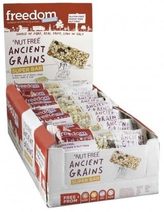 Freedom Foods Nut Free Ancient Grains Super Bar 18x32g
