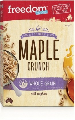 Freedom Foods Ultra Rice Maple Crunch 300gm