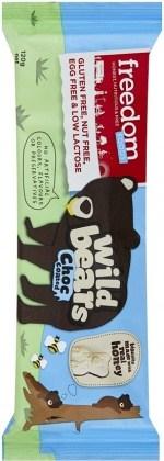 Freedom Foods Wild Bears Honey-Choc Coated 120g
