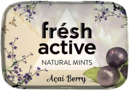 Fresh Active S/F Acai Berry Mints in Collectable Tin 20g