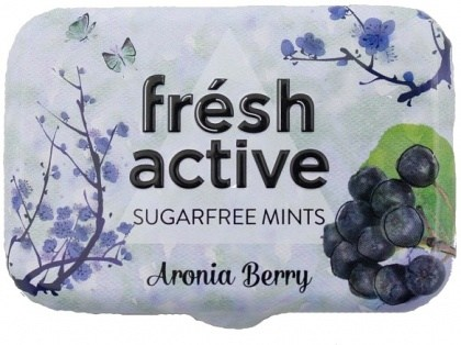 Fresh Active S/F Aronia Berry Mints in Collectable Tin 20g