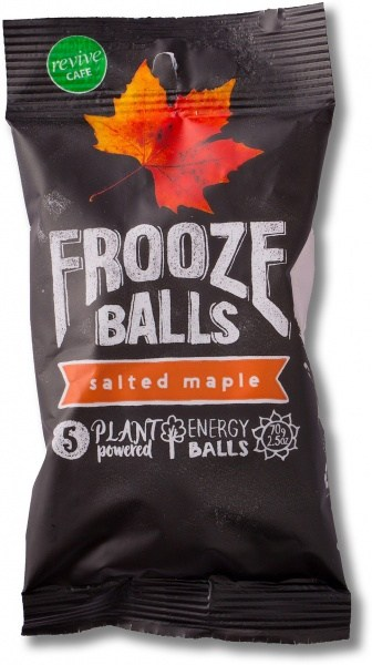 Frooze Balls Raw Energy Snack Balls Salted Maple (5balls)  70g