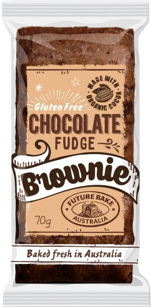 Future Bake Choc Fudge Brownie  10x70g