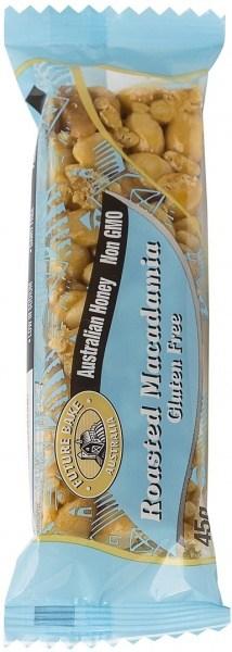 Future Bake Roasted Macadamia Nut Bar  20x45g