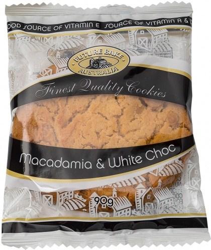 Future Bake White Choc & Macadamia Cookie 90g