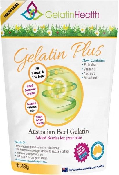Gelatin Health Gelatin Plus (Gut Plus) 450g