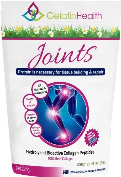 Gelatin Health JOINTS Collagen 225g