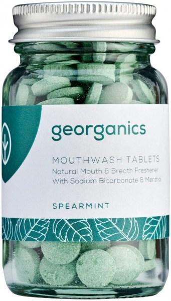 Georganics Mouthwash Tablets Spearmint 180tabs