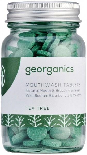 Georganics Mouthwash Tablets Tea Tree 180tabs