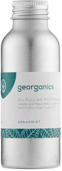 Georganics Oil Pulling Mouthwash Spearmint 100ml