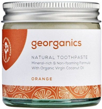 Georganics Toothpaste Orange 60ml