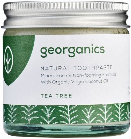 Georganics Toothpaste Tea Tree 60ml