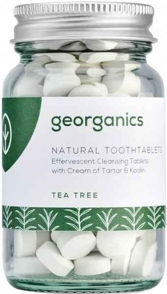 Georganics Toothtablets Tea Tree 120tabs