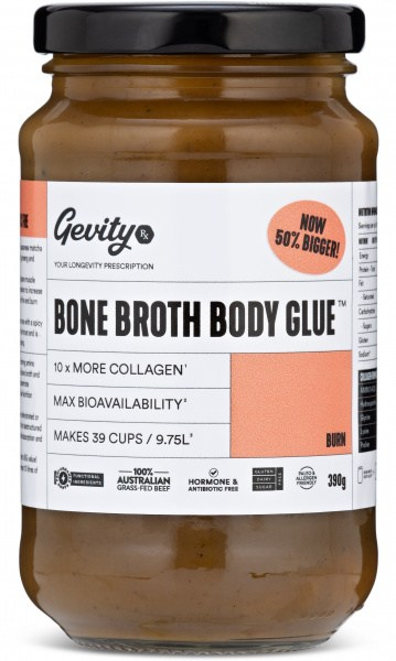 Gevity Rx Bone Broth Concentrate Burn 260g