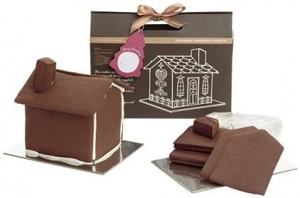Gingerbread Folk Gingerbread House Kit Chocolate 600g