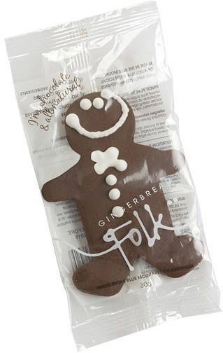 Gingerbread Folk I'm Chocolate & All Natural Gingerbread Men 24x30g