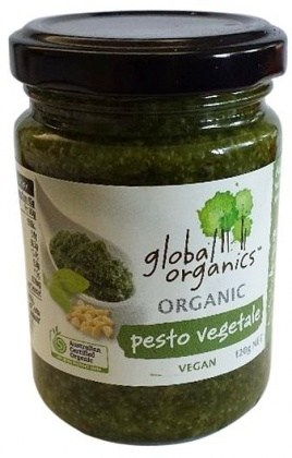 Global Organics Pesto Vegetable  120g