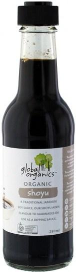 Global Organics Shoyu 250mL