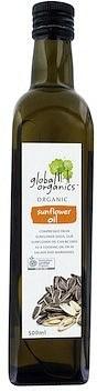 Global Organics Sunflower Oil 500ml