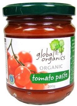Global Organics Tomato Paste 200g