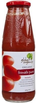 Global Organics Tomato Puree (Passata di Pomodro) 680g