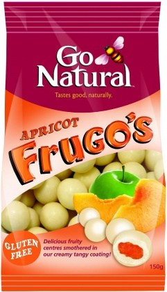 Go Natural Apricot Frugo's  150gm