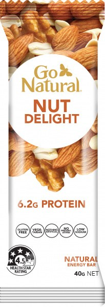 Go Natural Nut Delight Bars 16x40g