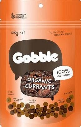 Gobble Organic Currants 100g