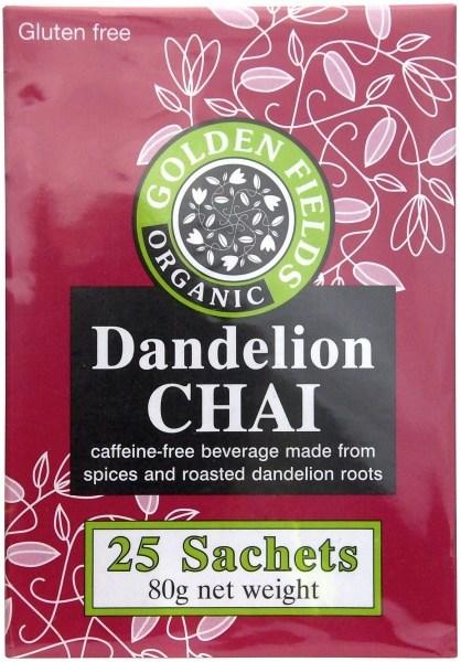 Golden Fields Organic Coffee Dandelion Chai  (25Sachets) 80g
