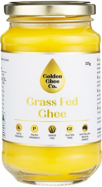 Golden Ghee Co Grass Fed Ghee  325g