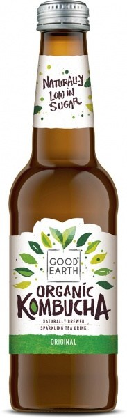 Good Earth Organic Kombucha Original 330ml