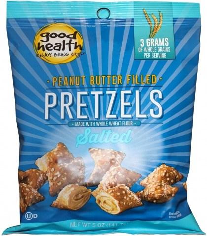 Good Health Peanut Butter Pretzels 142g