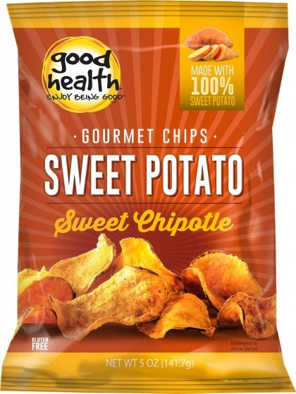 Good Health Sweet Potato Maple Chipotle Chips  142g