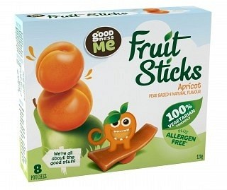 Goodness Me Fruit Sticks Apricot (8Pouches)  120g
