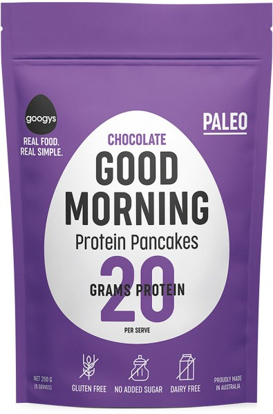 Googys Chocolate Protein Pancake  250g NOV21