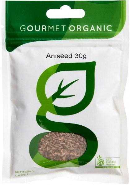 Gourmet Organic Aniseed Whole 30g Sachet x 1
