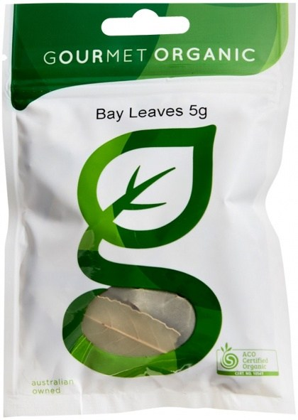 Gourmet Organic Bay Leaves 5g  Sachet x 1