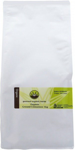 Gourmet Organic Cinnamon Ground 1Kg