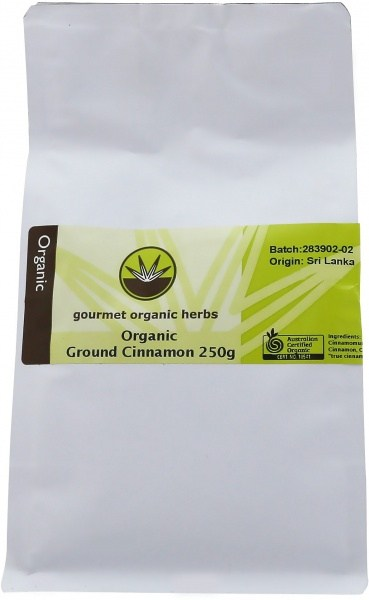 Gourmet Organic Cinnamon Ground 250g