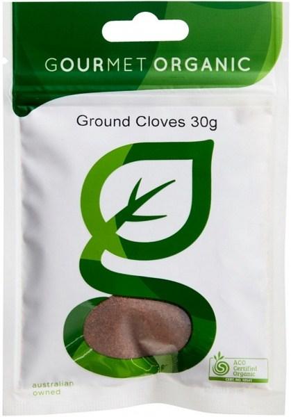 Gourmet Organic Cloves Ground 30g