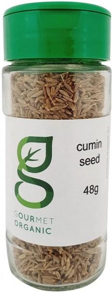 Gourmet Organic Cumin Seed Shaker 48g