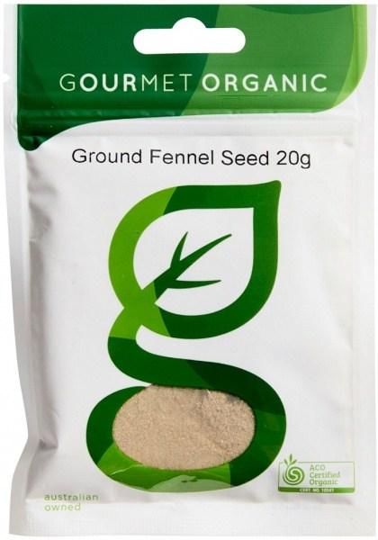 Gourmet Organic Fennel Ground 20g Sachet
