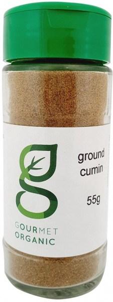 Gourmet Organic Cumin Ground Shaker 55g
